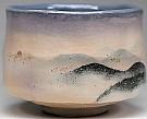 Raku-yaki Tea Bowl Titeld Shizuka