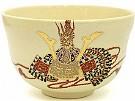 Kyoyaki Tea Bowl With Kabuto