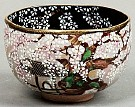 Kyoyaki Tea Bowl With Kokonoe-zakura